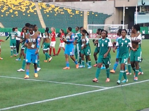 Falconets after England win